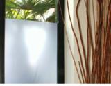 Film de confidentialité blanc laiteux format large  152 cm / 172 cm_