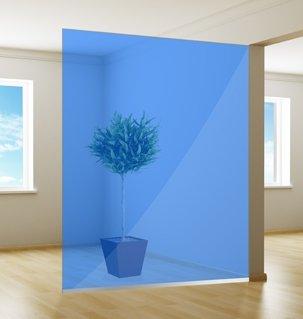 Film pour vitrage coloré | Excellent | Océan bleu