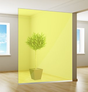 Gekleurde Raamfolie | Excellent | Yellow