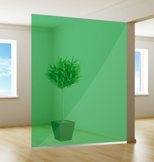 Film pour vitrage coloré | Excellent | vert