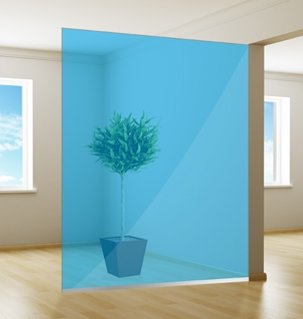 Gekleurde Raamfolie | Excellent | Azure Blue