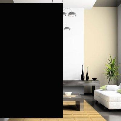 Feuille de fenêtre occultante (noir/noir)