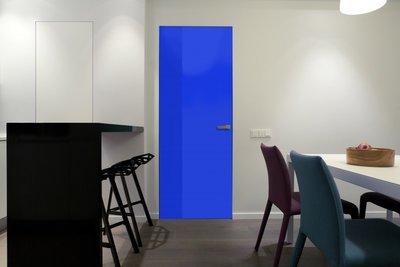 Gekleurde folie | Dekkend | Glans | Blauw