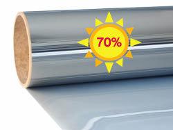 Film de fenêtre de protection solaire |Excellent |Miroir 70 |  intérieur