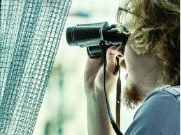 Miroir anti-regard extérieur (HR + et HR ++ et supérieur) 122 cm, 152 cm 172 cm