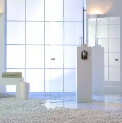 Film de confidentialité blanc laiteux format large  152 cm / 172 cm